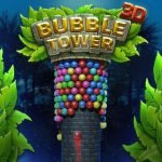 3D Bubble Tower Game: Rotating Color Shooter