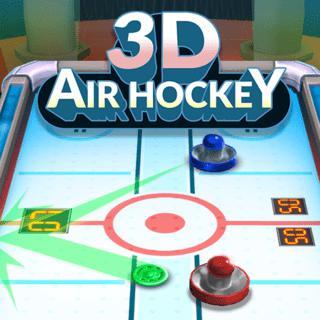 3D Air Hockey Game: Devastating Pucks