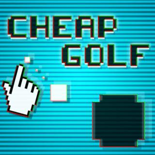 Cheap Golf: Weird Retro AI Putt-Putt Game