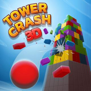 3D Tower Crash Game: Destroy With Colors