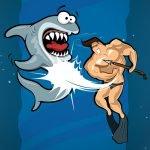 Dangerous Danny: Shark Diving Challenge