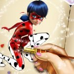 Dotted Girl Coloring Book