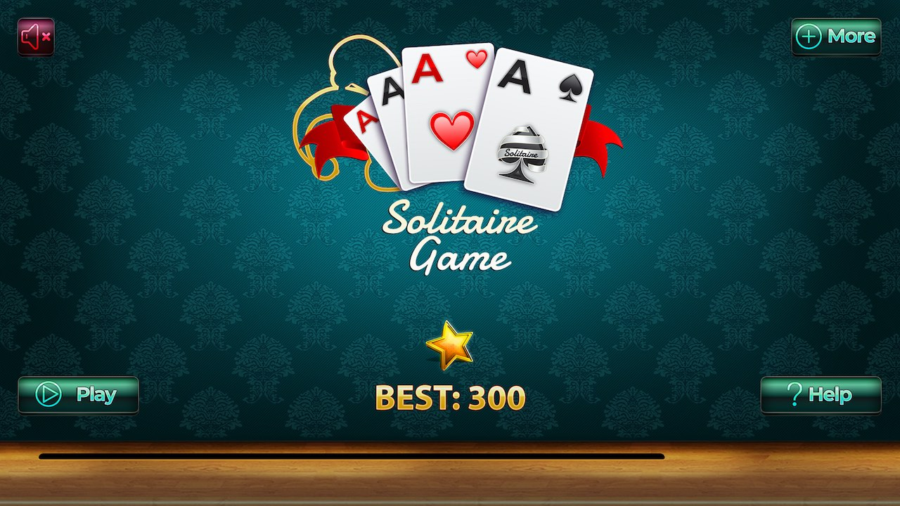 Image Golf Solitaire: a funny card game