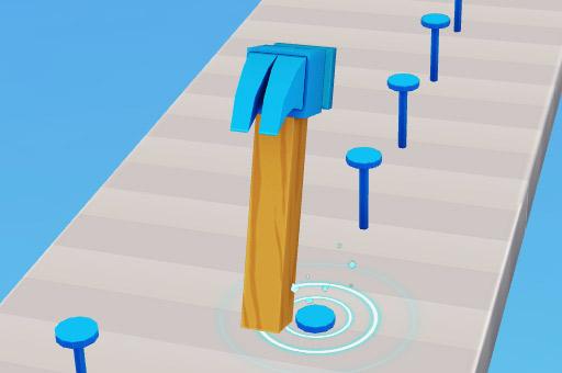 Image Hammer Master Game: Drive Nails, Pop Balloons