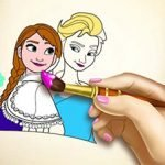 Ice Kingdom Coloring Book