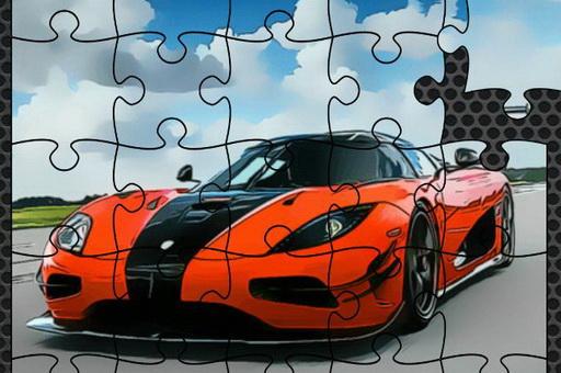 Image Luxury Swedish Cars Jigsaw