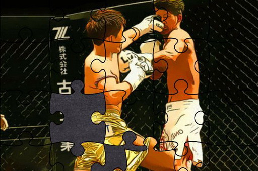Image MMA Fighters Jigsaw