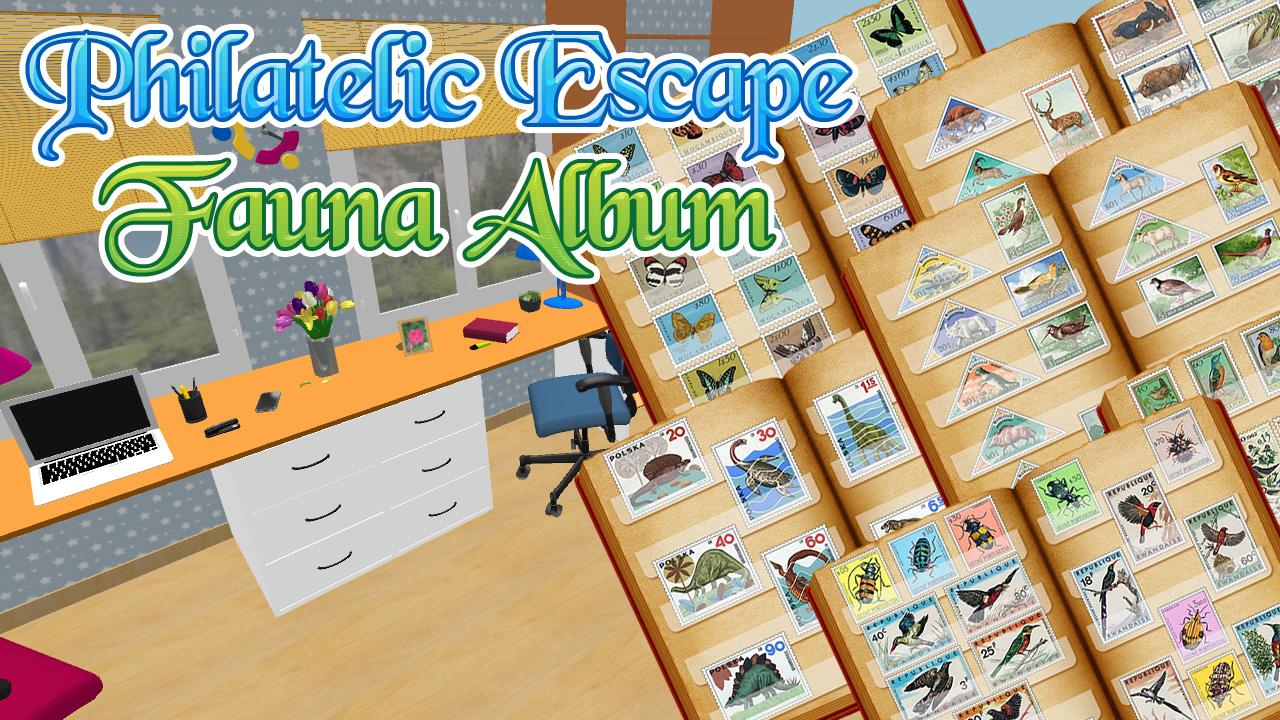Image Philatelic Escape Fauna Album