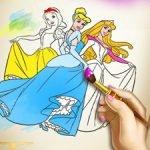 Princesses Coloring Book