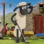 Shaun The Sheep Baahmy Golf Game: Mole in One
