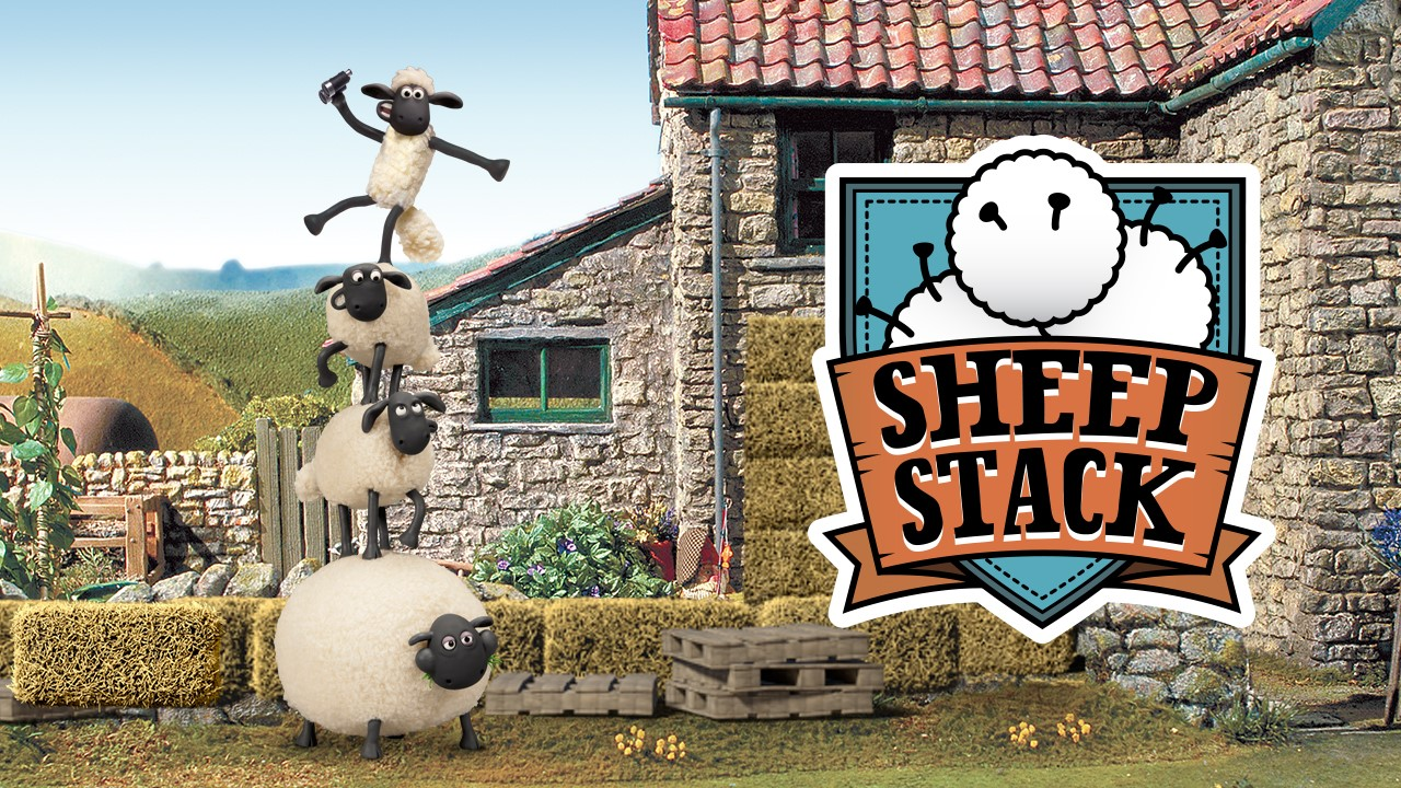 Shaun The Sheep: Silly Slingshot Stacker