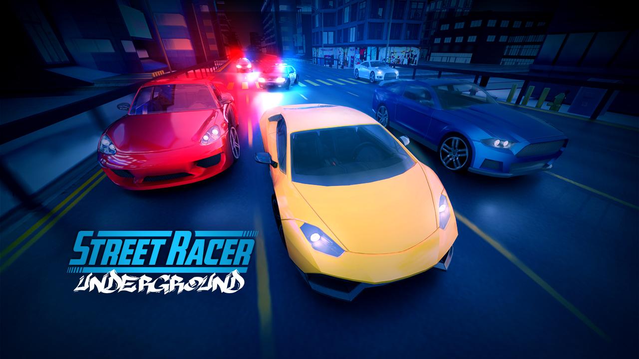 Image Street Racer: High Speed Nitro in the Dark