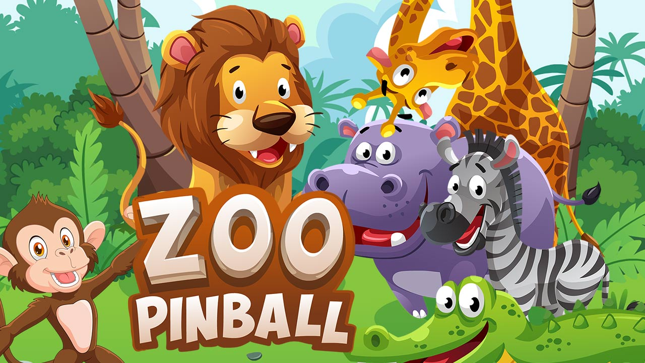 Image Zoo Pinball: Lions and Tigers and Hippos