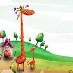 Cartoon Giraffe Puzzle