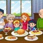Family Dinner Jigsaw