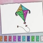 Glitter Toys Coloring Book