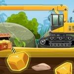 Gold Truck Crane