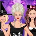 Halloween dress up game