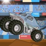 Monster Truck Stunt Race: Jump, Flip & Upgrade