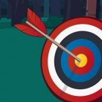 Tiny Archer: Put the Arrow in the Bullseye