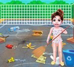 Baby Taylor Beach Cleaning Day