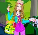 Barbie Camping Dress Up