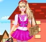 Barbie College Princess Dress Up