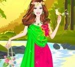 Barbie Earth Princess Dress Up