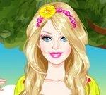 Barbie Enchanted Princess Dress Up