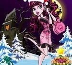 Draculaura Christmas Dress Up