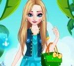 Elsa Summer Dress Up