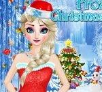 Frozen Christmas Design