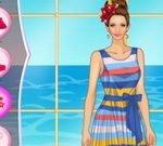 Helen Colorful Stripes Dress