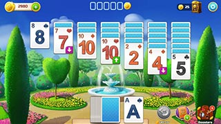 Image Solitaire Garden: Decorate & Remodel Card Game